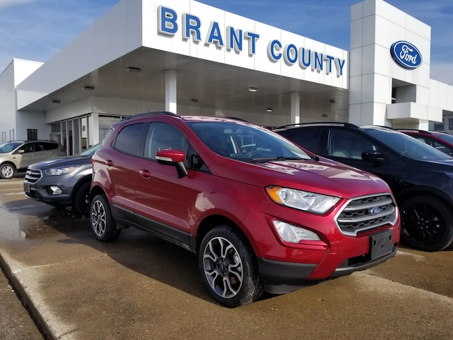 2018 Ford EcoSport SE - NAV, ROOF, BACK UP CAM! SUV