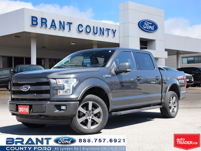 2016 Ford F-150 Lariat - ROOF, NAV, LEATHER Truck