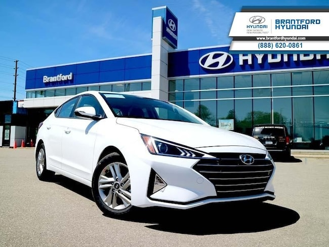 2020 Hyundai Elantra Preferred w/Sun & Safety Package IVT - $134.52 B/W Sedan