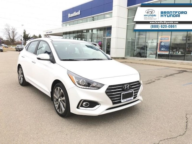 2019 Hyundai Accent Ultimate - Sunroof - $121.30 B/W Hatchback