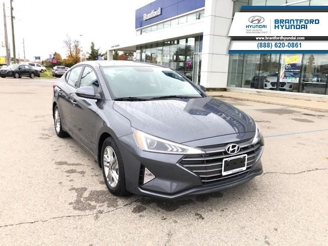 2020 Hyundai Elantra Preferred w/Sun & Safety Package IVT - $135.64 B/W Sedan