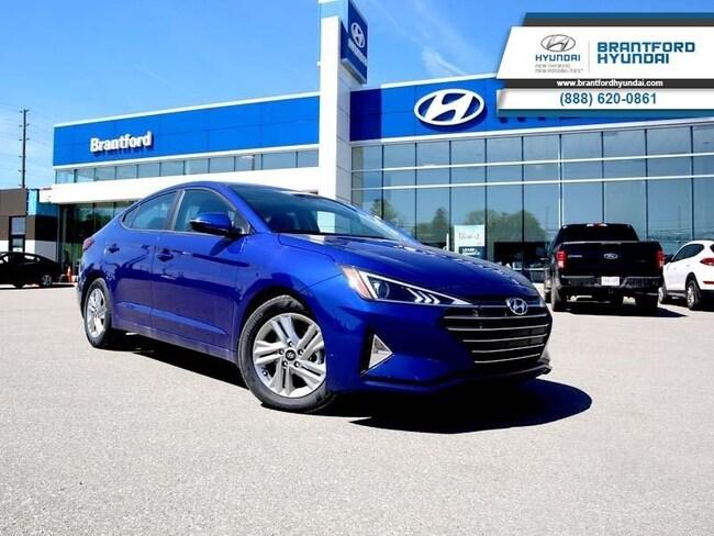 2020 Hyundai Elantra Preferred w/Sun & Safety Package IVT - $135.64 B/W Sedan