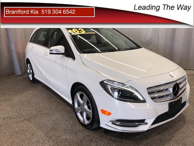 2014 Mercedes-Benz B-Class Sports Tourer Hatchback Gas 7 speed automatic with auto-shift Front-wheel Drive White