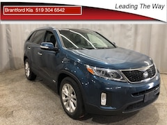 2014 Kia Sorento EX V6 w/Sunroof SUV Gas A6 All-wheel Drive Wave Blue(USB)