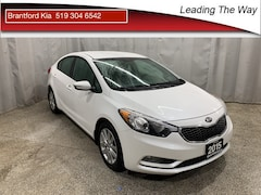 2015 Kia Forte 1.8L LX+ | Heated Seats | from 0.9% Sedan Gas A6 Front-wheel Drive Snow White Pearl(SWP)