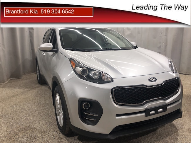 2017 Kia Sportage LX $99 Down $62/week | from 0.9% finance SUV Gas 6 SPEED AUTOMATIC Front-wheel Drive Silver