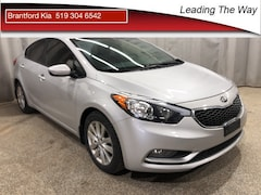 2016 Kia Forte Sunroof | Heated Seats | From 0.9% Sedan Gas 6 SPEED AUTOMATIC Front-wheel Drive White