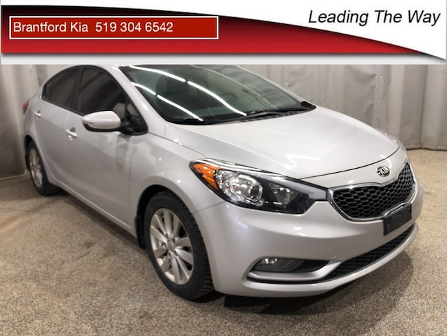 2016 Kia Forte Sunroof | Heated Seats | From 0.9% Sedan Gas A6 Front-wheel Drive Ultra Silver(4SS)