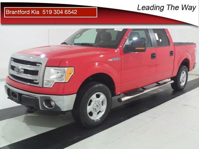 2014 Ford F-150 XLT   4x4   V8 CREW PICKUP Gas AUTO 4x4 Red