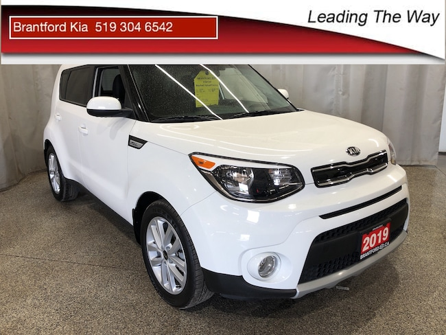 2019 Kia Soul EX | Rear Camera | from 0.9% Hatchback Gas A6 Front-wheel Drive Polar White(1D)