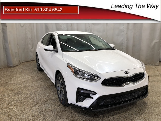 2019 Kia Forte EX Sedan ICVT 2.0L Snow White Pearl
