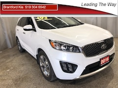 2016 Kia Sorento  SX | Leather | Panoramic Roof | Navigation SUV Gas A6 All-wheel Drive Snow White Pearl(SWP)