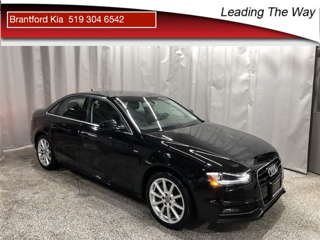 2015 Audi A4 | Leather | Navi | AWD | 2 sets of Wheels/tires Sedan Gas Automatic All-wheel Drive Black