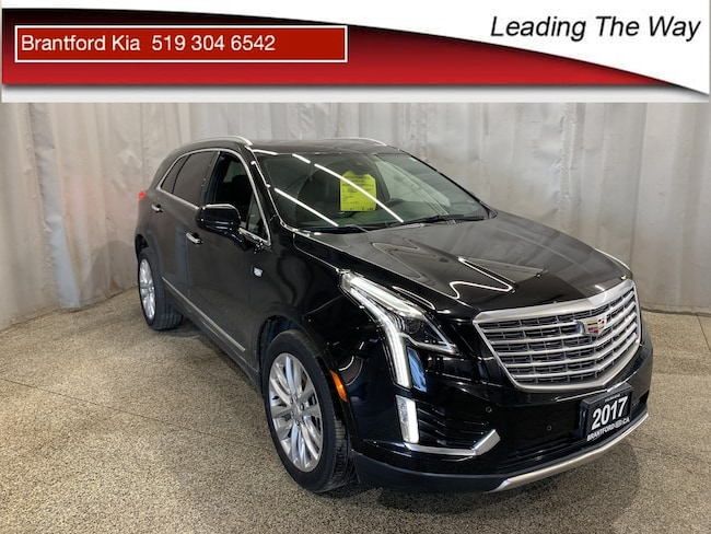 2017 Cadillac XT5 Platinum Platinum | Advanced Safety Tech | Sunroof SUV Gas AUTO All-wheel Drive Black