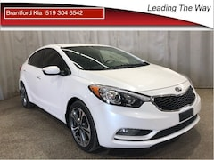 2014 Kia Forte 2.0L EX Sedan Gas M6 Front-wheel Drive Snow White Pearl(SWP)