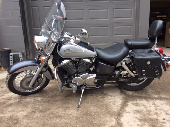 2003 HONDA Shadow ACE 750 Touring =MINT WITH 25570 KM=