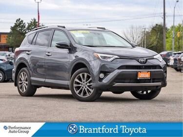 2016 Toyota RAV4 Leather, Navigation, Moonroof, Only 38919 SUV
