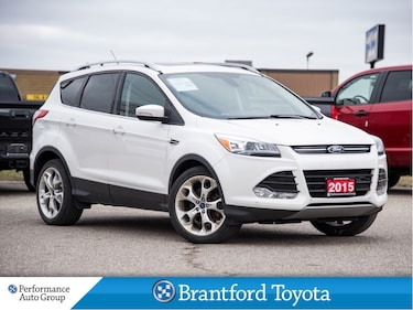 2015 Ford Escape Titanium, Only 89986 Km's, Brand New Tires, SUV