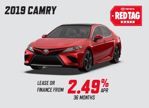 2019 Camry Special Offer