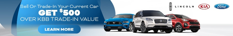 Get $500 Above Kelly Blue Book Value For Your Trade