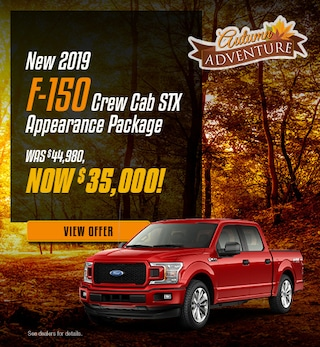 New 2019 F-150 Crew Cab STX Appearance Package