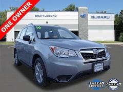 Certified 2016 Subaru Forester 2.5i SUV in Brattleboro, VT