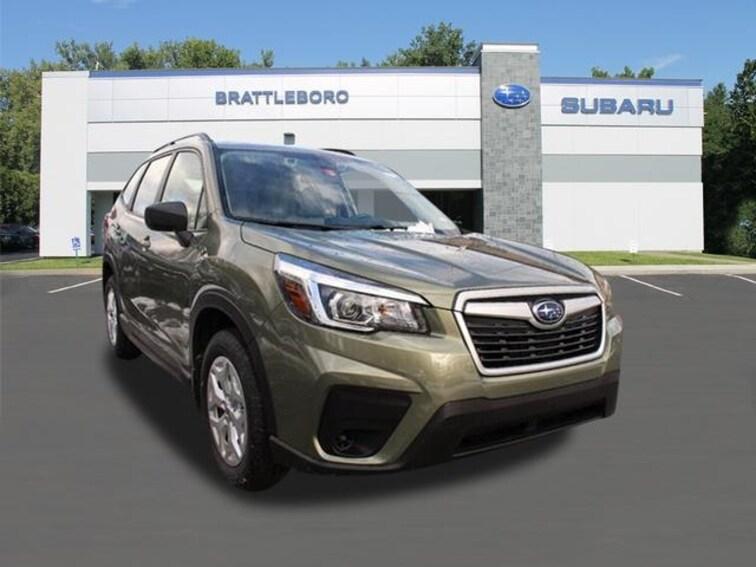 New 2019 Subaru Forester Standard SUV Brattleboro Vermont