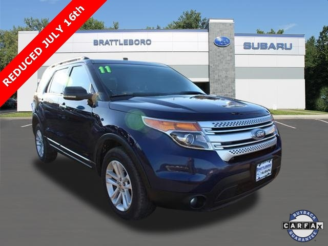 2011 Ford Explorer For Sale >> 2011 Used Ford Explorer For Sale Brattleboro Vt Vin