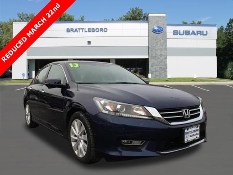 Used 2013 Honda Accord EX-L Sedan in Brattleboro