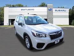 Used 2019 Subaru Forester Base SUV Brattleboro Vermont