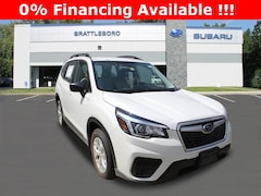 New 2020 Subaru Forester Base Trim Level SUV in Brattleboro, VT