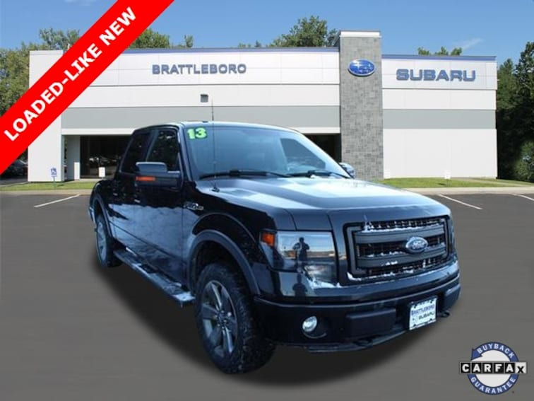 Used 2013 Ford F-150 FX4 Truck SuperCrew Cab in Brattleboro