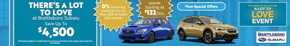 There's A Lot to Love at Brattleboro Subaru