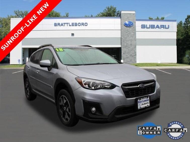 Used 2018 Subaru Crosstrek 2.0i Premium SUV in Brattleboro