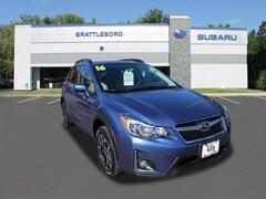 Certified 2016 Subaru Crosstrek 2.0i Premium SUV in Brattleboro, VT