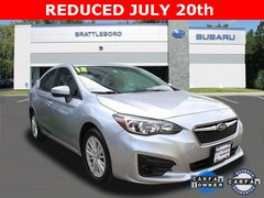 Used 2018 Subaru Impreza 2.0i Premium Sedan in Brattleboro, VT