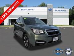 Certified 2018 Subaru Forester 2.5i Premium SUV in Brattleboro, VT