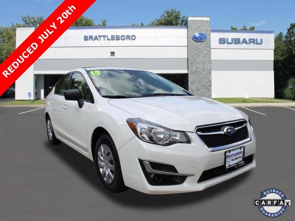 Used Subaru Wrx For Sale >> 2015 Used Subaru Impreza For Sale Brattleboro Vt Vin Jf1gjaa68fg024993