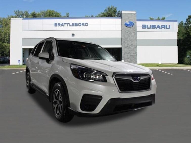 New 2019 Subaru Forester Premium SUV Brattleboro Vermont