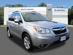 Certified 2014 Subaru Forester 2.5i Limited SUV in Brattleboro, VT