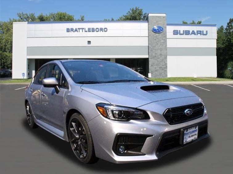 New 2019 Subaru WRX Limited Sedan Brattleboro Vermont