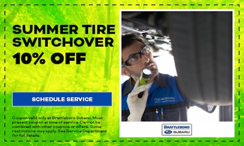 SUMMER TIRE SWITCHOVER
