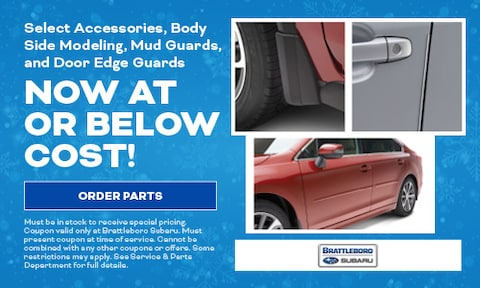 Select Accessories, Body Side Modeling, Mud Guards, and Door Edge Guards