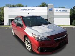 New 2020 Subaru Impreza Base Model Sedan in Brattleboro, VT