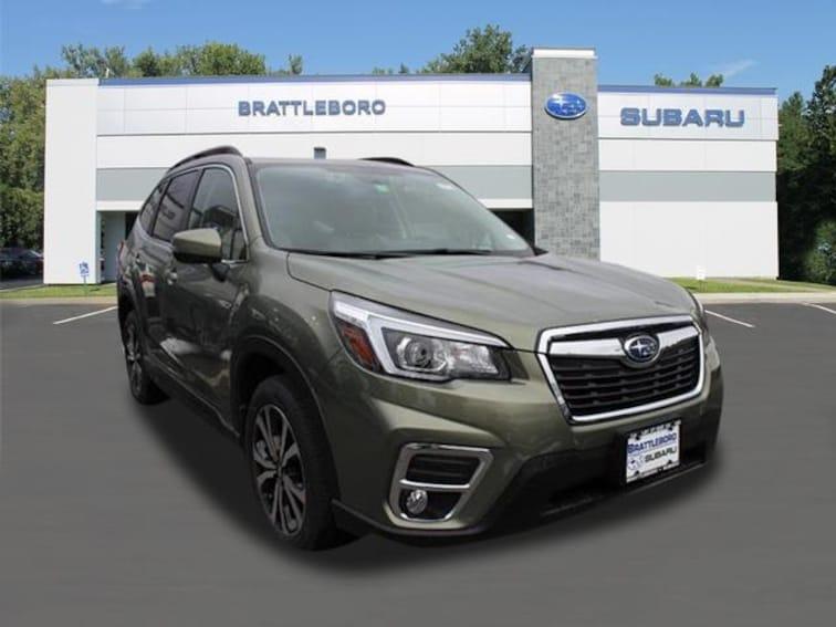 New 2019 Subaru Forester Limited SUV Brattleboro Vermont