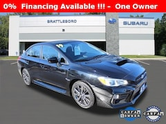 Used 2019 Subaru WRX Base Sedan Brattleboro Vermont