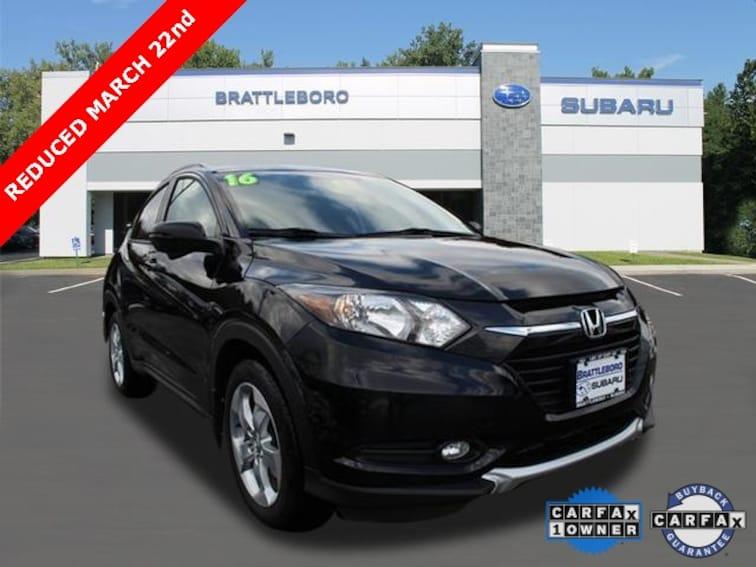 Used 2016 Honda HR-V EX-L w/Navigation SUV in Brattleboro