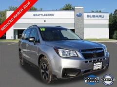 Certified 2018 Subaru Forester 2.5i SUV in Brattleboro, VT