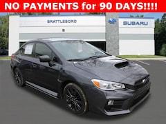 New 2020 Subaru WRX Base Model Sedan in Brattleboro, VT