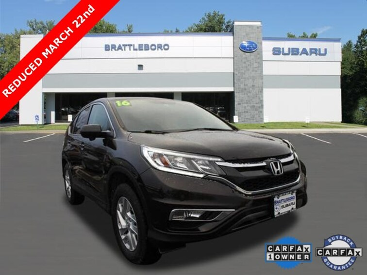 Used 2016 Honda CR-V EX SUV in Brattleboro